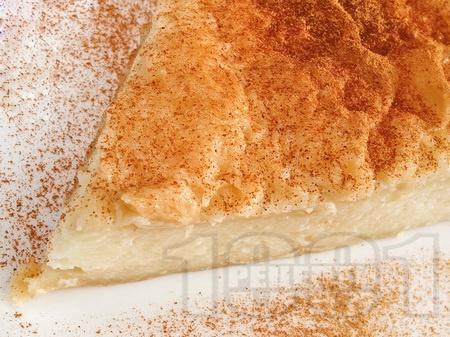 Галактобурико - гръцки сиропиран сладкиш с бутер тесто и грис - снимка на рецептата